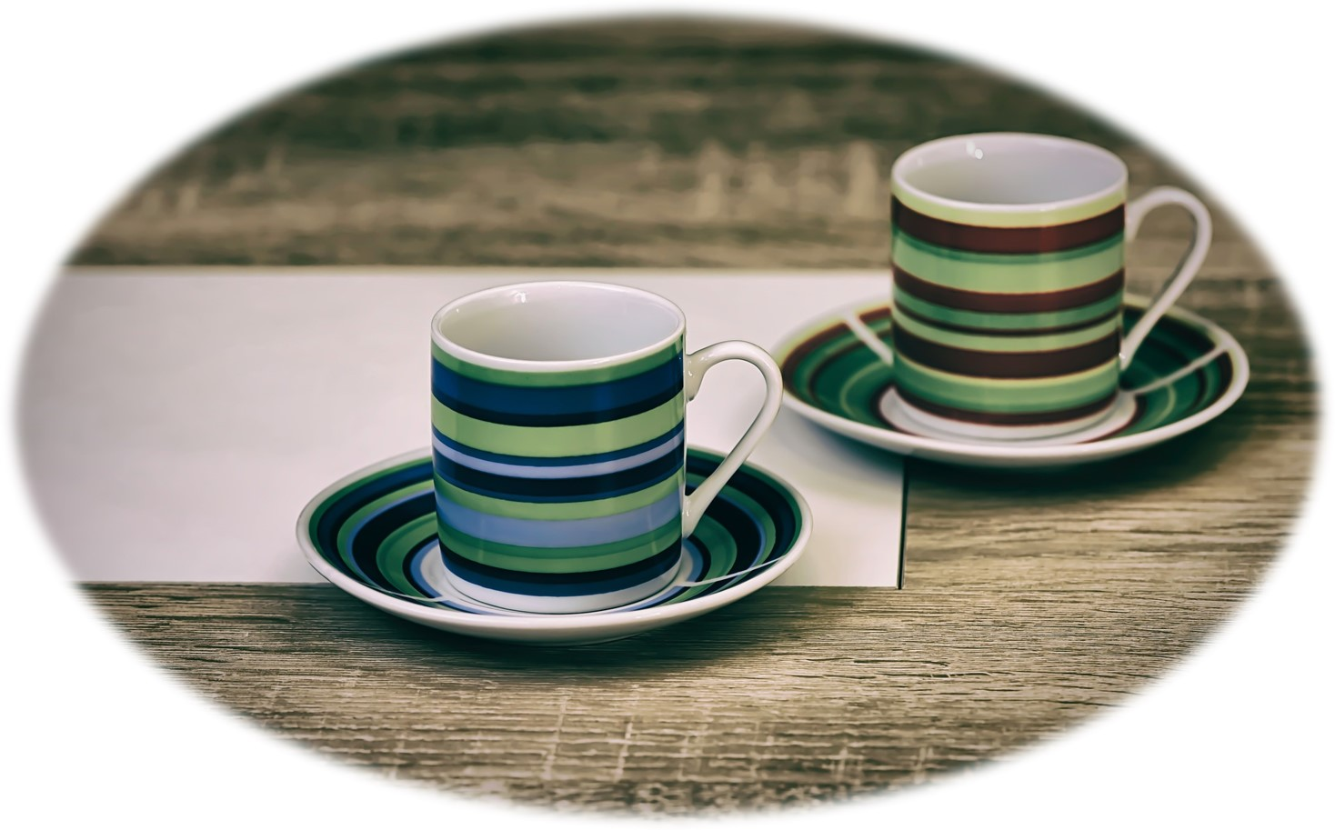 coffee cups green 2